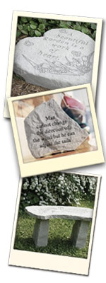 Kay Berry - Personalized Memorial Stones and Benches